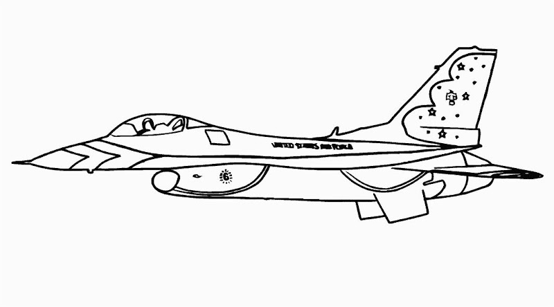 Fun Craft For Kids Printable Airplane Coloring Pages