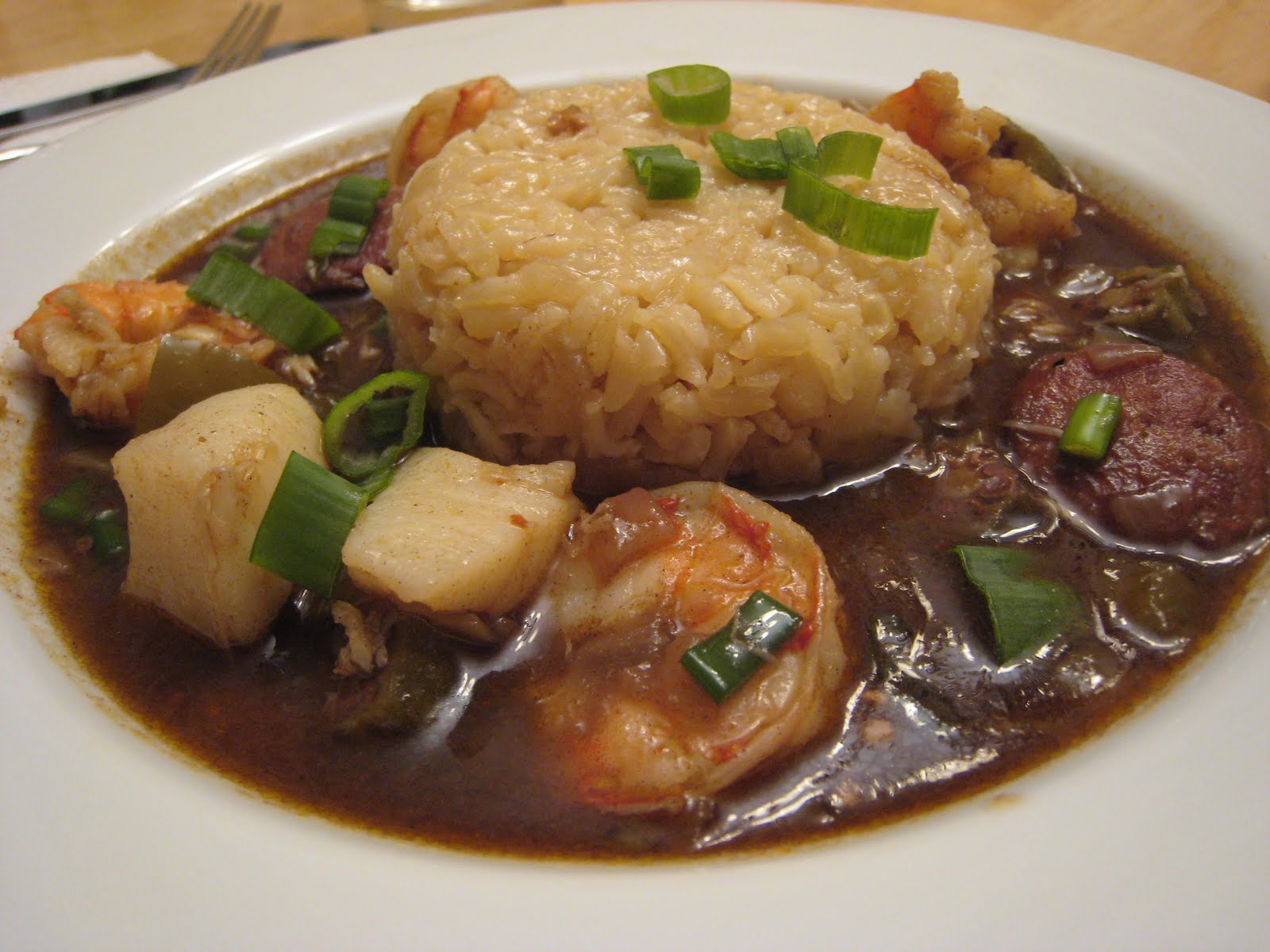 The Garlic Press Seafood Gumbo