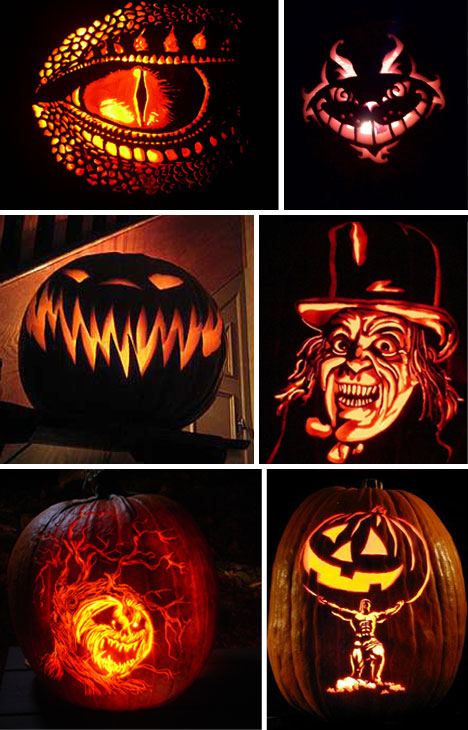 The incredible stuffs awesome pumpkin carvings for halloween
