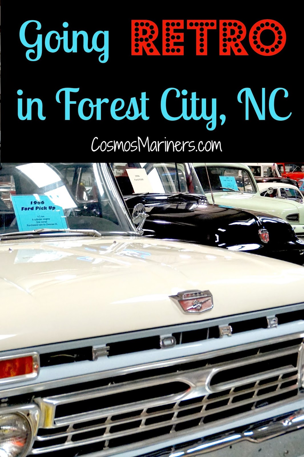 Retro Rides and Soda Shop Sandwiches: A Trip Down Memory Lane in Forest City, NC | CosmosMariners.com