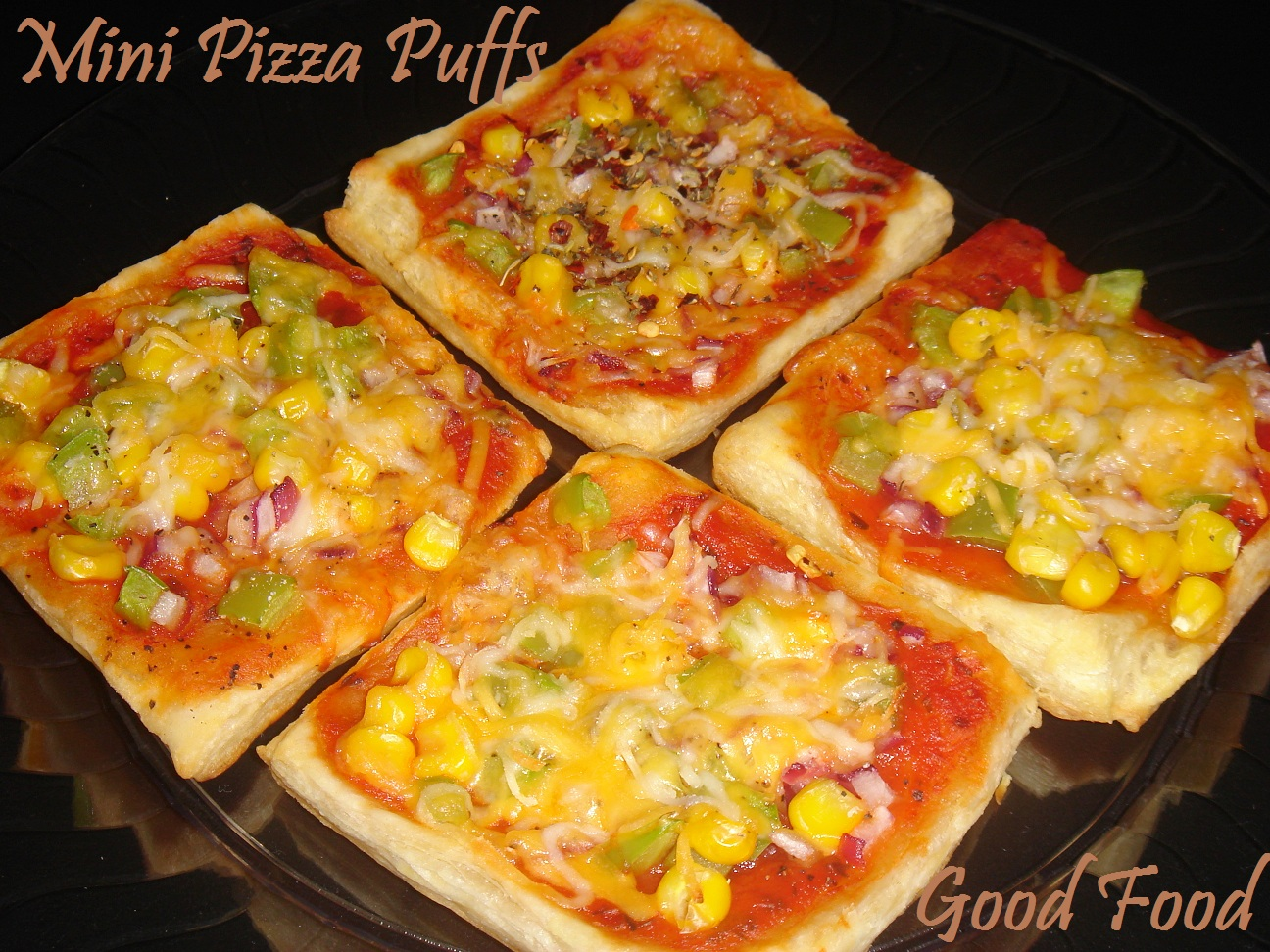 Good Food Mini Pizza Puffs