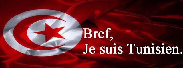 Couverture facebook Bref, Je suis tunisien