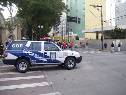 Vtr da GM de Curitiba - PR.