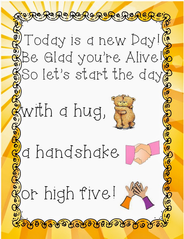 http://www.teacherspayteachers.com/Product/New-Day-Poem-1305173