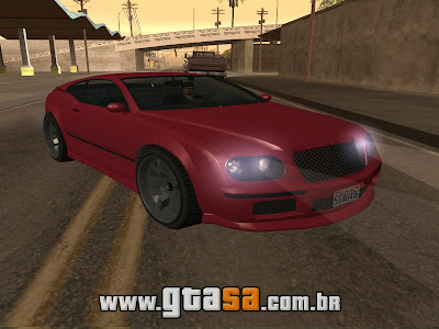 Enus Cognoscenti Cabrio do GTA V para GTA San Andreas