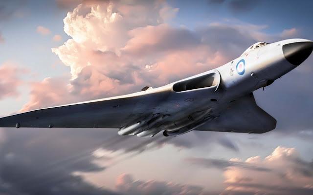 Avro Vulcan Plane