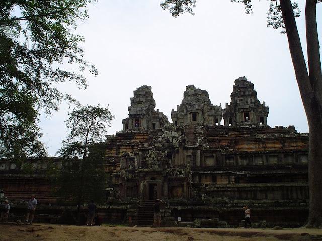 Angkor Thom in Kambodscha