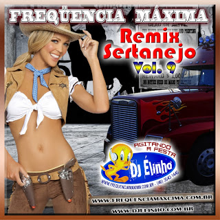 Capa do álbum Remix Sertanejo Vol. 09 (2013)