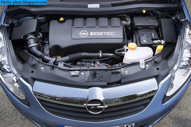 Opel corsa car 2013 engine - صور محرك سيارة اوبل كورسا 2013