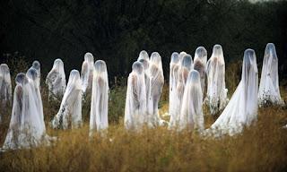 Nackte Geister von Spencer Tunick in Mexiko