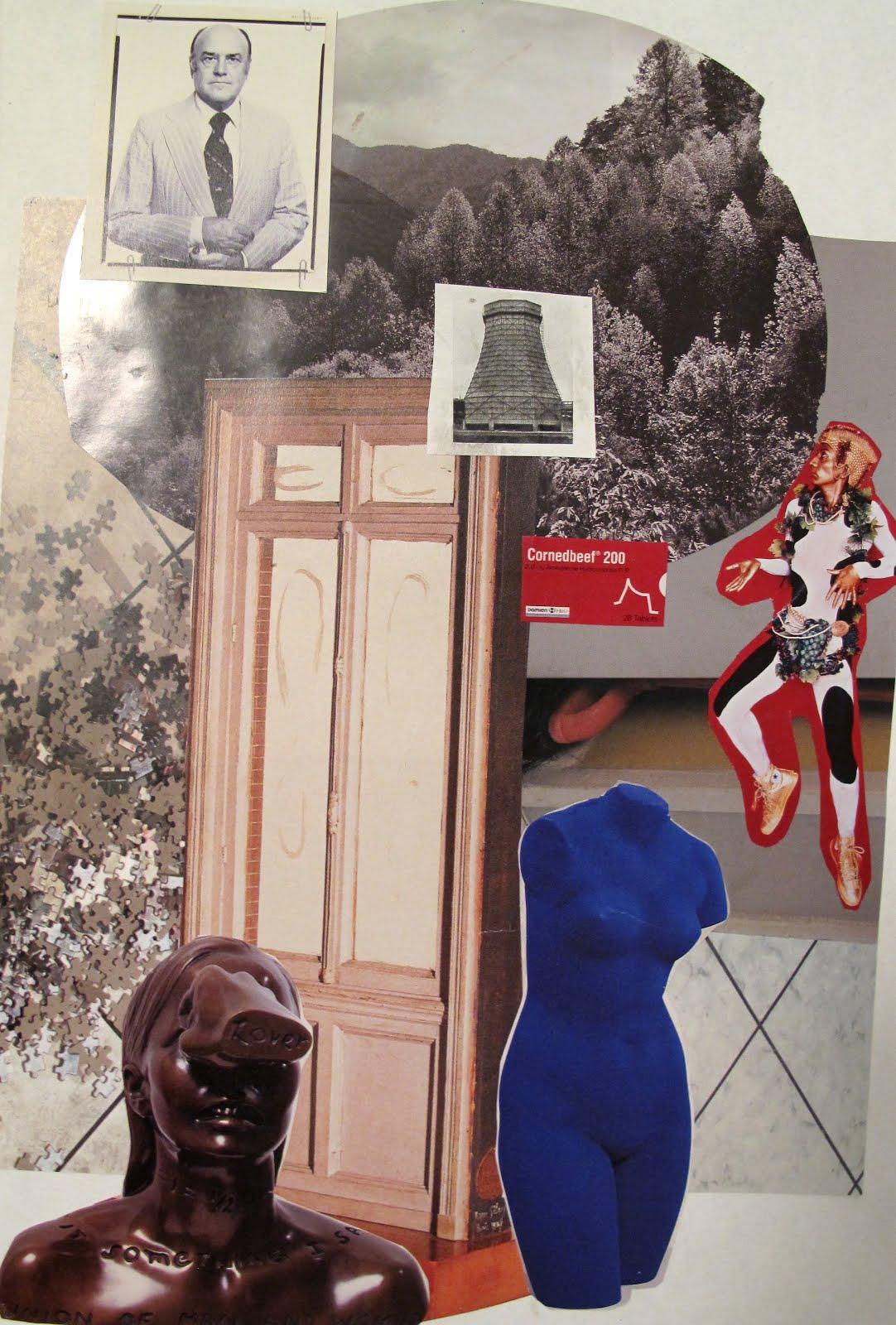 Modernismo Anacronico Collage I