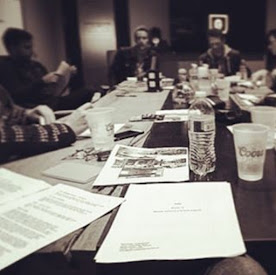 THIS MONTH'S TOP COLUMN: The Table Read