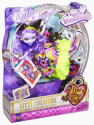 JUGUETES - Ever After High : Way Too Wonderland Kitty Cheshire | Muñeca - Doll Toys | Producto Oficial 2015 | Mattel | A partir de 6 años