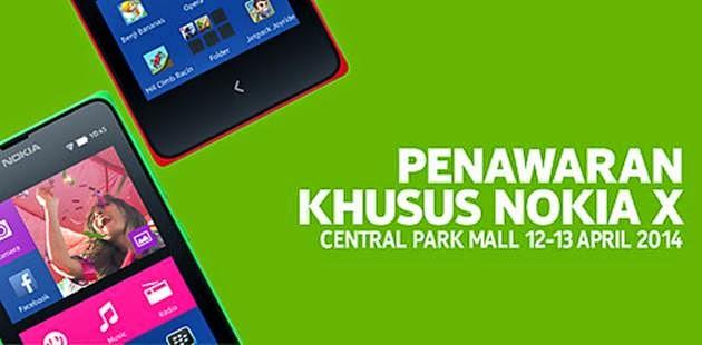 Nokia X ada di Indonesia