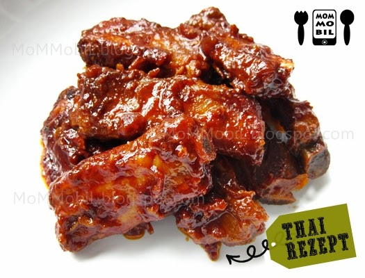 thai garlic spareribs recipes yummly thai bbq spare ribs at thai ocha ...