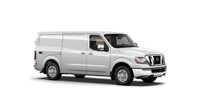 2014 Nissan NV white