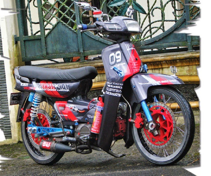 Modifikasi Honda Grand Astrea