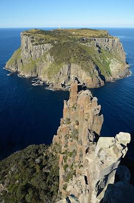 Tasman Island from The Blade, Cape Pillar - 8th April 2011