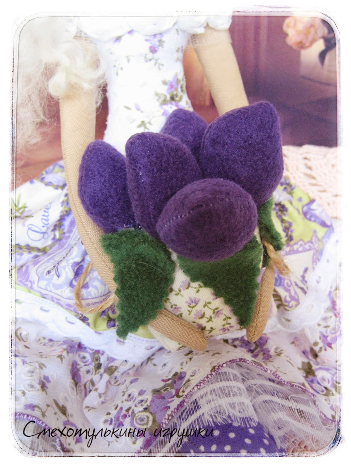 Ангел цветочница