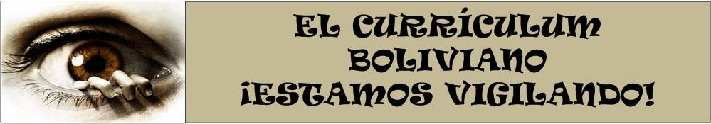 EL CURRÍCULUM BOLIVIANO