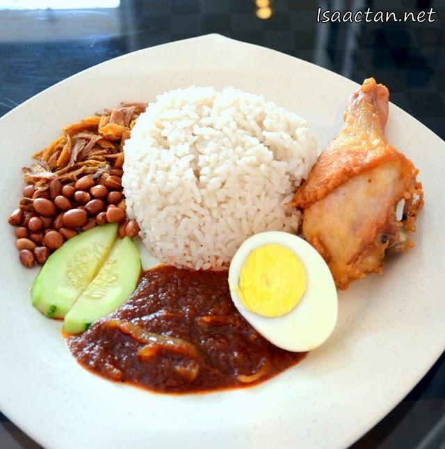 Kopi Corner @ Jaya One Petaling Jaya, Nasi Lemak Fried Chicken - RM8.50