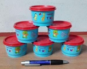 Tupperware Tiwi Snack Cup RM25 sebiji