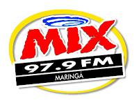 ouvir a Rádio Mix FM 97,9 ao vivo e online Maringá PR