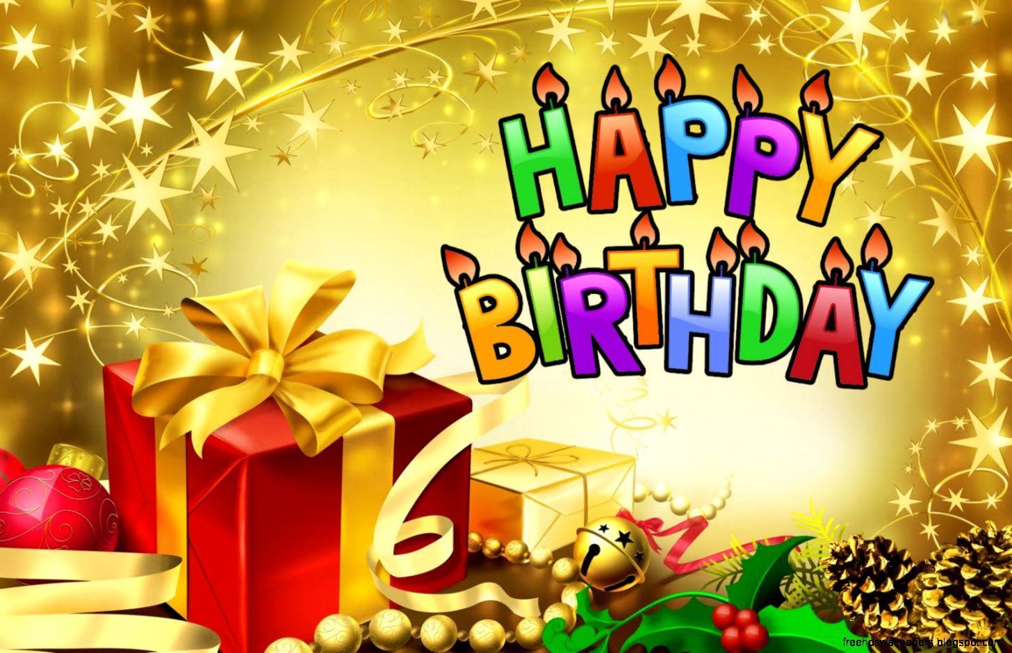 Hd wallpaper happy birthday gifts free hd wallpapers view original size negle Gallery