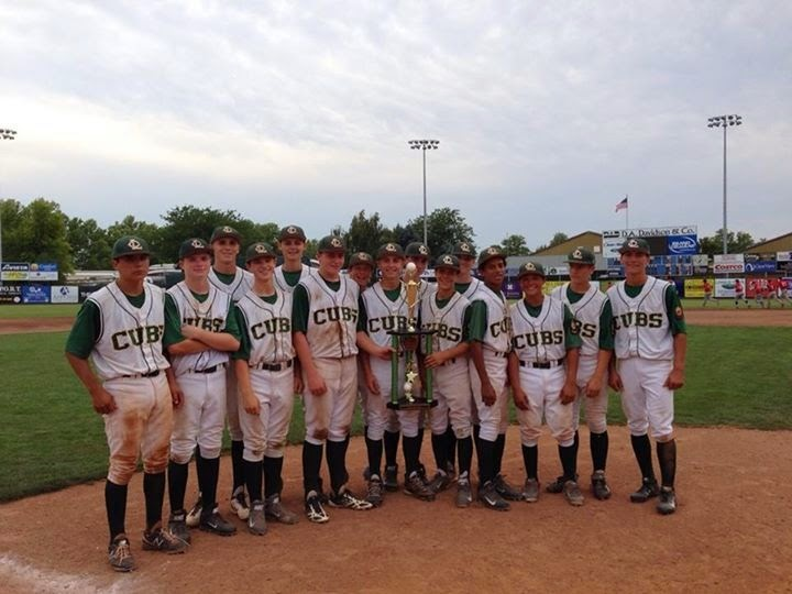 Congratulations, Cubs! 2014 Clancy Ellis Tournament Champions!