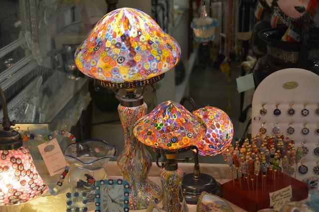 Shopping in Venice Murano Glass