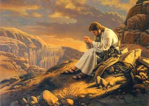 Jesus, o santo de Deus