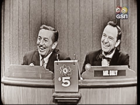 Walt's Windows - Walt Disney on What's My Line