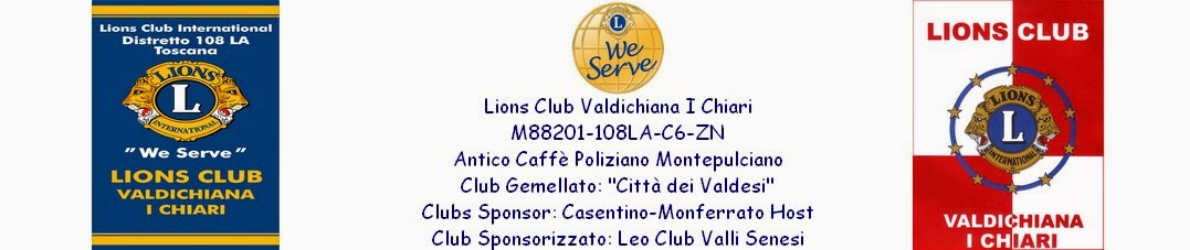 Lions Club Valdichiana I Chiari website