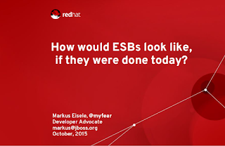 If They Were Done Today? My JavaOne Presentation
