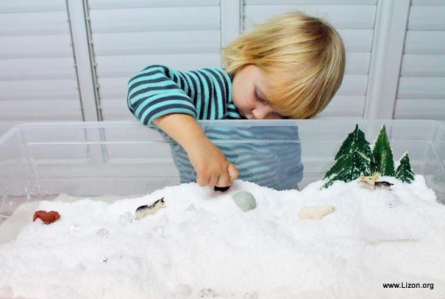 Снежная Сенсорная Коробка