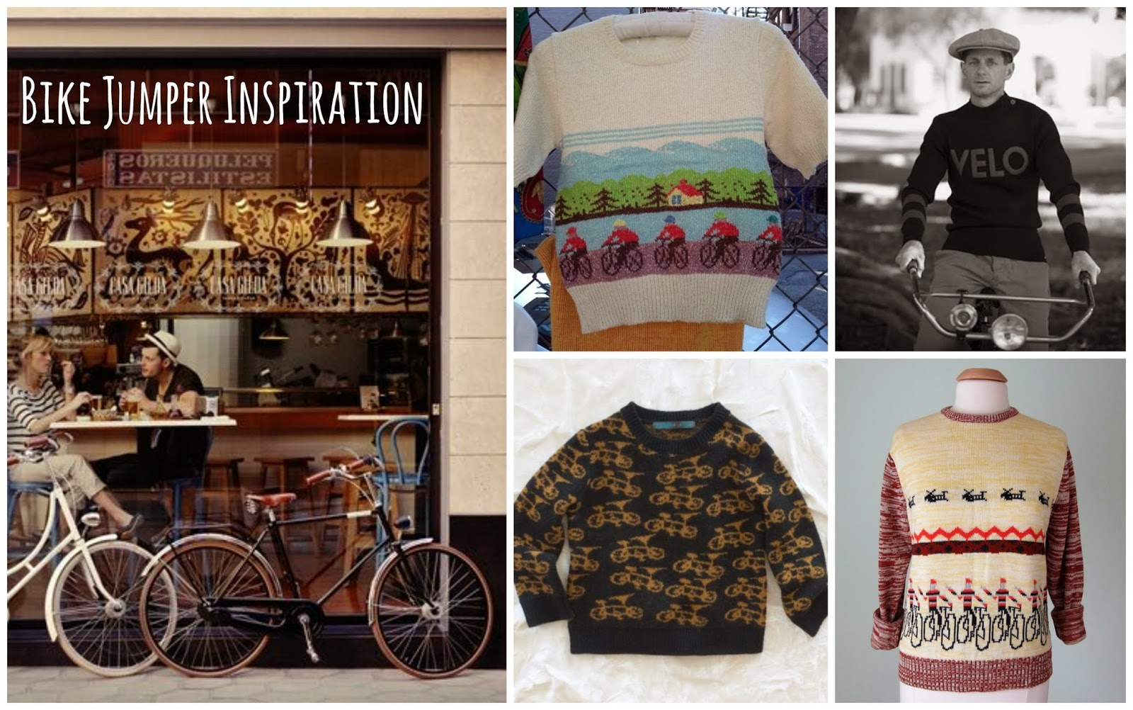 Bicycle Jumper Inspiration