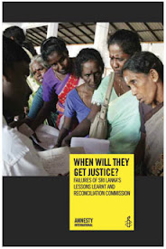 Amnesty: Failures of Sri Lanka's LLRC