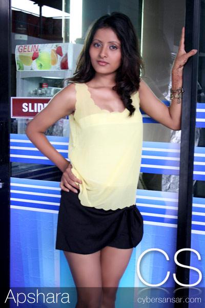 Apsara Shahi new Nepali model featured by cybersansar.Apsara is new ...