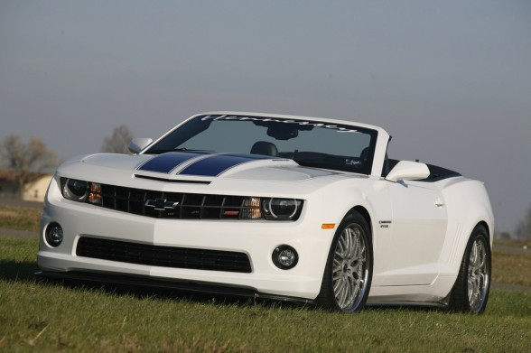 2011 Hennessey HPE600 Supercharged Camaro Convertible