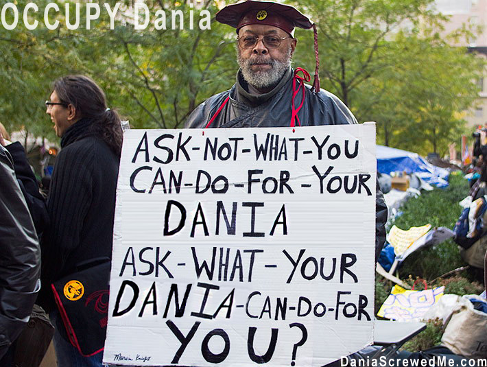 How Dania Furniture Ruined My Life Forever: OCCUPY Dania Furniture