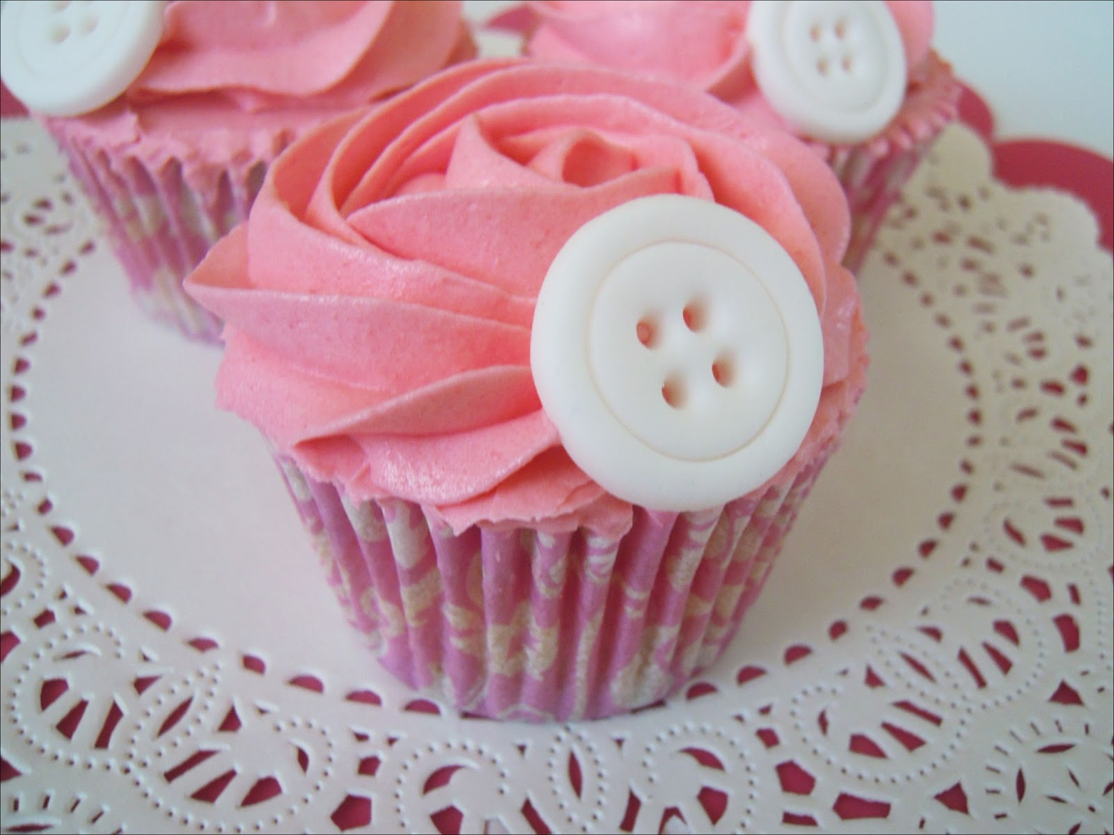 Cupcakes de Chicle + Tutorial Botones!