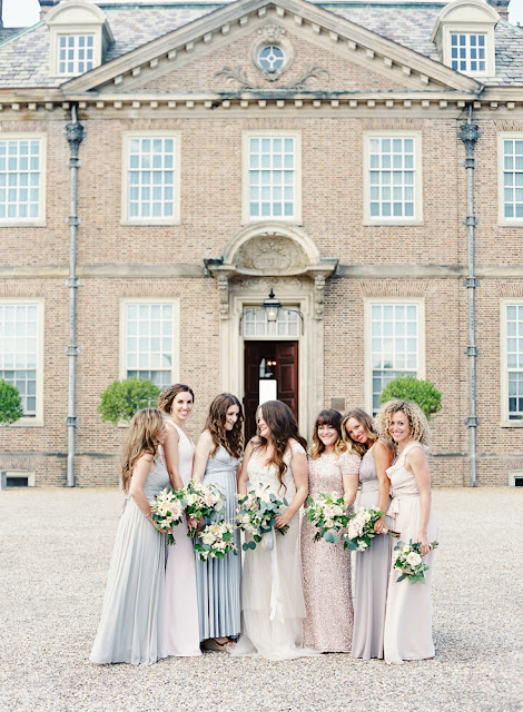 les fleurs : crane estate : summer wedding : estate wedding : neutral bridesmaid dresses