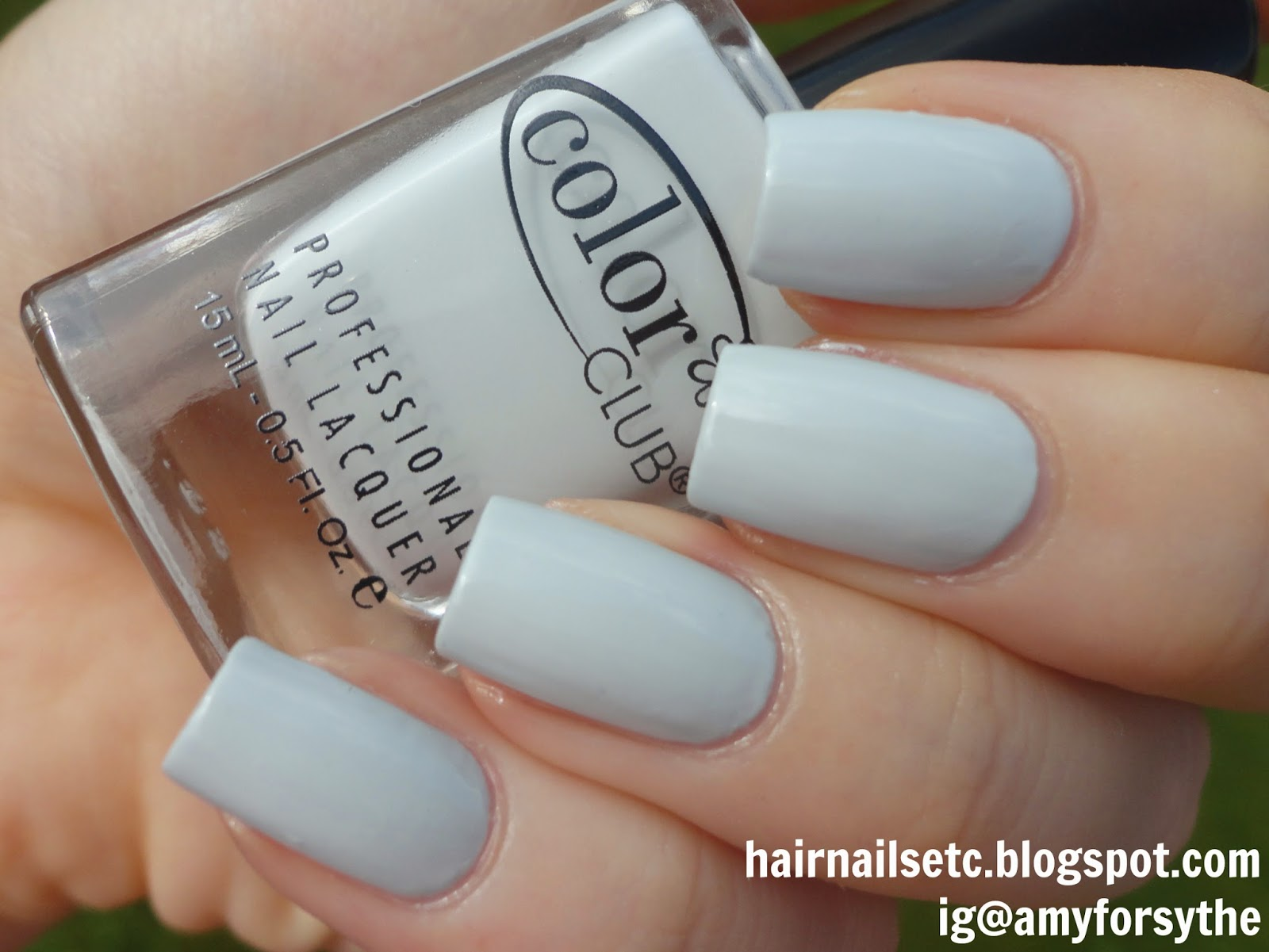 Swatch and Review of Color Club Nail Lacquer in Silver Lake from Girl About Town Collection, Fall 2013