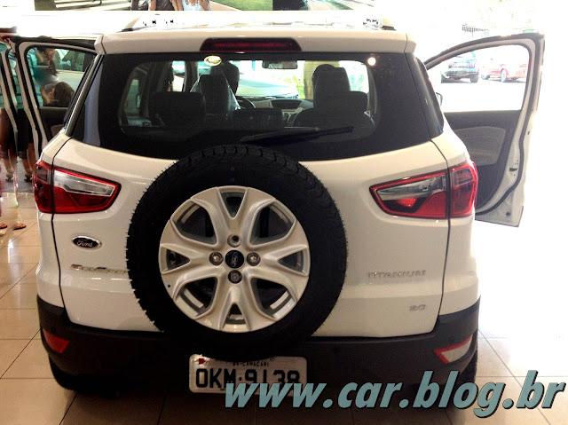 Novo Ford EcoSport 2013 - interior - por dentro