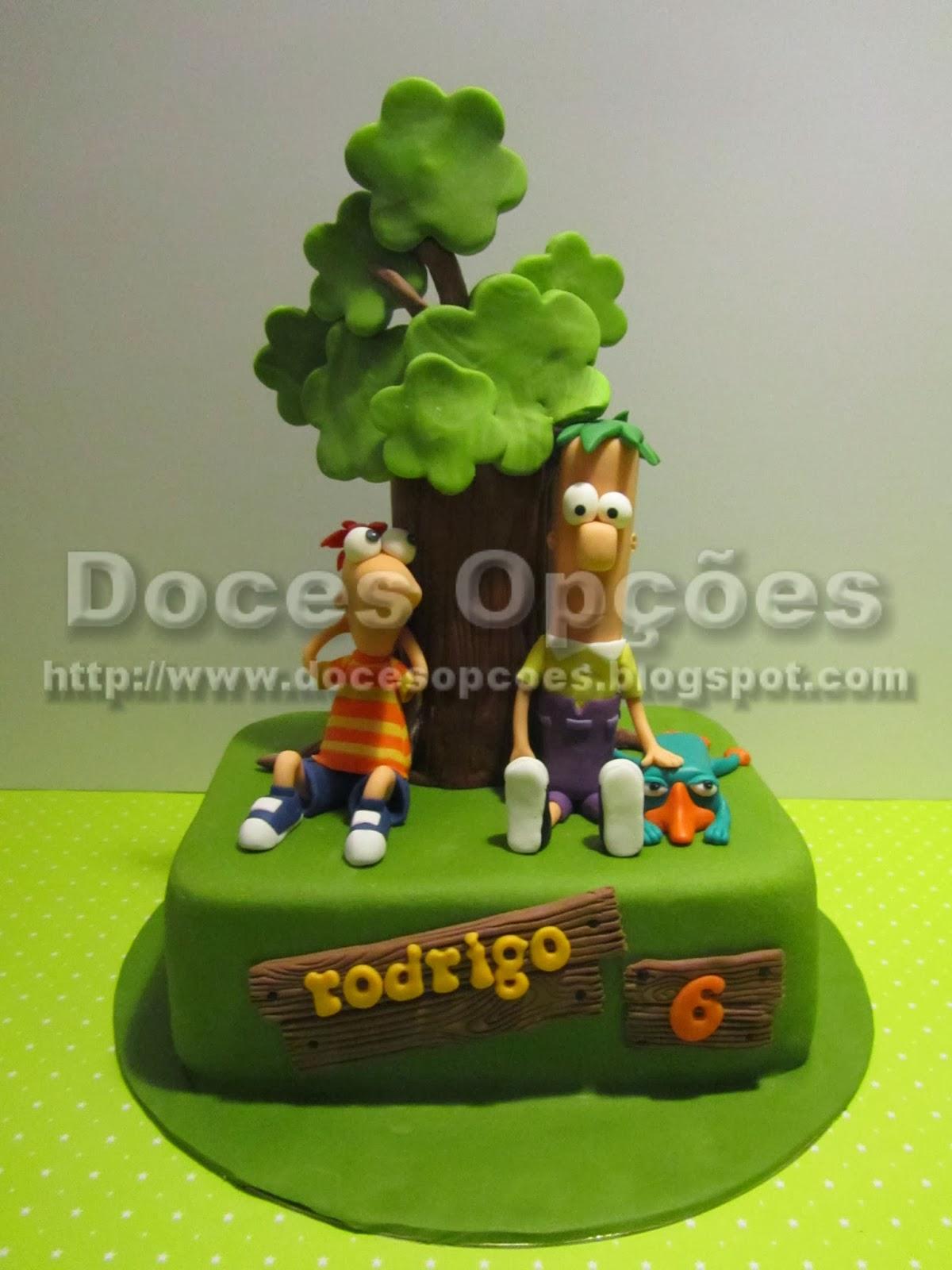 Bolo Phineas e Ferb