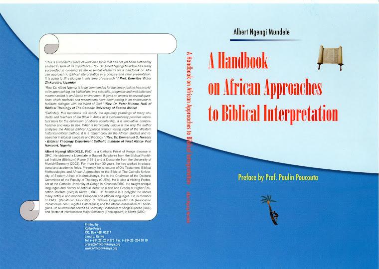 A Handbook on African Approaches to Biblical Interpretation