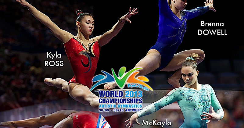 Gymnastics and More!: USA Girls for the 2013 Artistic ...