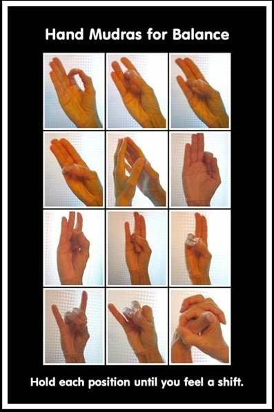 Hand Mudras for Balance