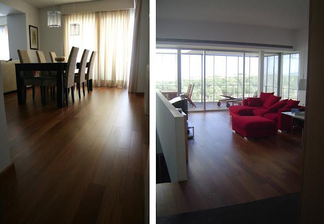Suelos de madera maciza de interior espacios en madera - Suelos madera interior ...