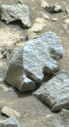 Bigfoot evidence another face carved in stone on mars